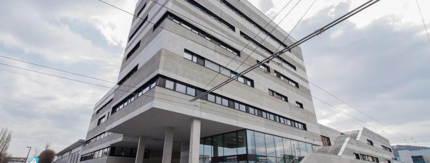 Wissensstadt Salzburg Science City Itzling Laborgebäude