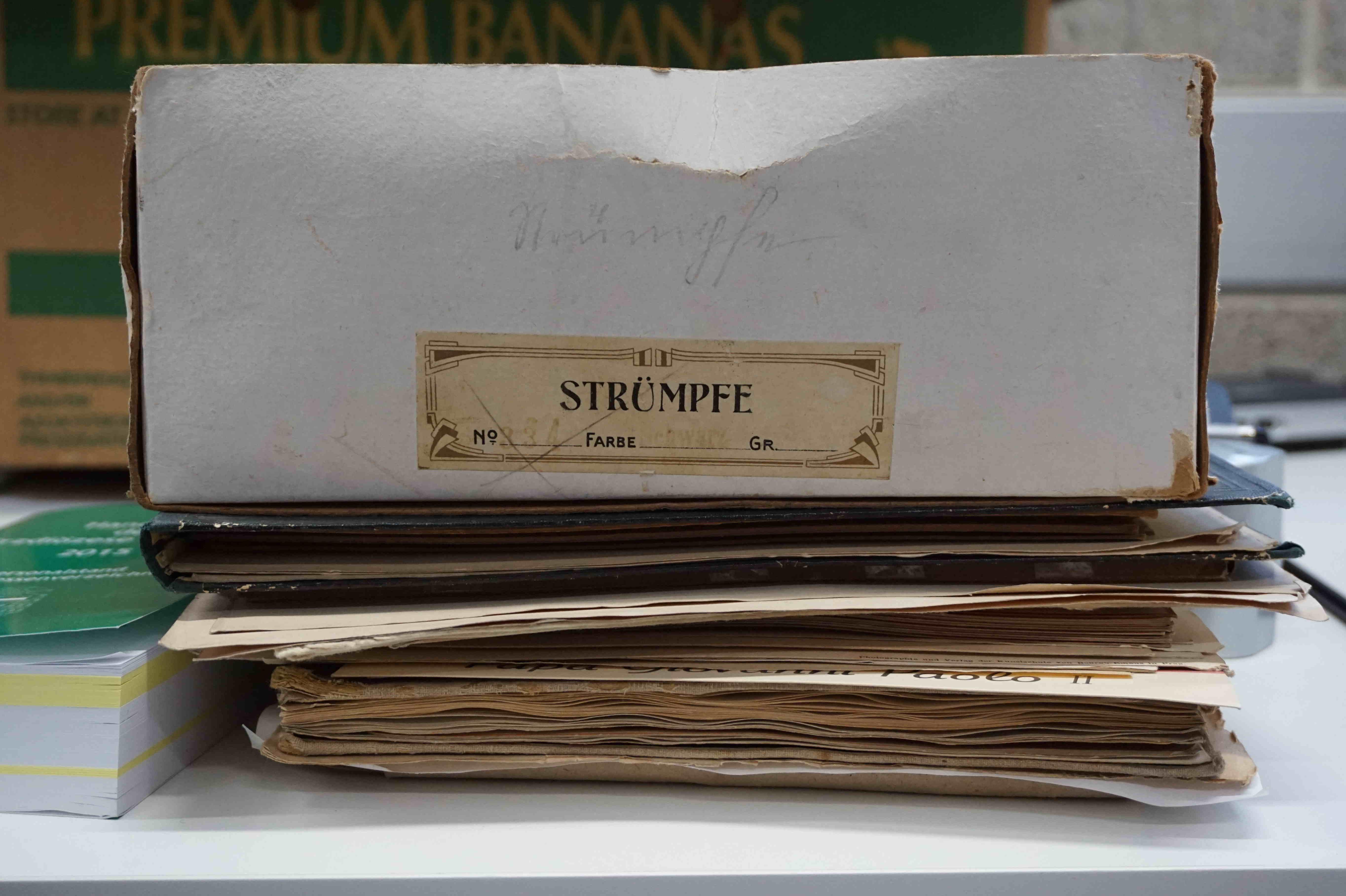 Auch einige Kuriositäten gibt es in den Archiven zu entdecken.