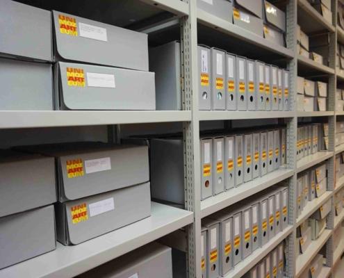 Das Archiv der Uni Mozarteum speichert die Geschichte der Kunstuni und ihrer berühmten Lehrenden und Studierenden.