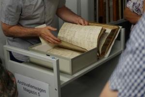 Die Pfarrmatriken im Archiv der Erzdiözese Salzburg verzeichnen die Geburten in der Stadt Salzburg.