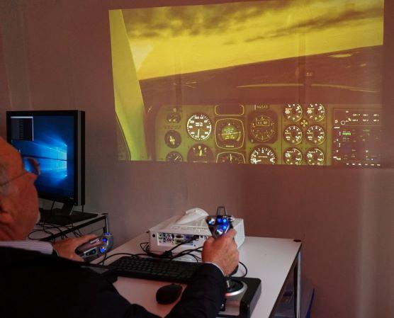 Flugsimulator Aerospace Research