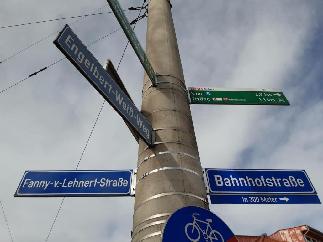 Geschichte von nebenan - Fanny-von-Lehnert-Straße