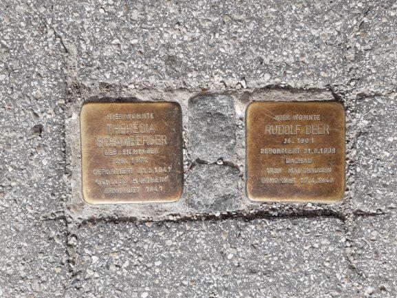 Geschichte von nebenan - Stolpersteine