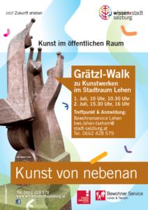 Kunst von nebenan Grätzl-Walk